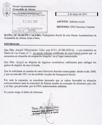 Asistenta social - Granadilla-SC