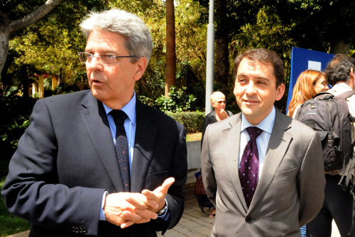 Julio Pérez y José Manuel Bermúdez