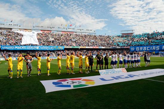 CD Tenerife y UD Las Palmas jugarán en agosto dos amistosos de preparación, uno en el estadio de Gran Canaria y otro en el Heliodoro. / DA