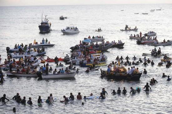 Embarque Virgen del Carmen La Punta