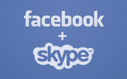 Videollamada Facebook-Skype