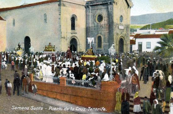 Procesión Puerto de la Cruz siglo XX
