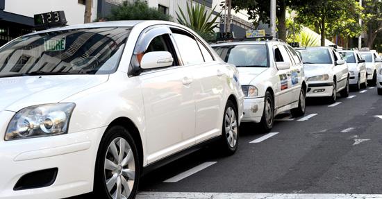 Licencias taxi Santa Cruz