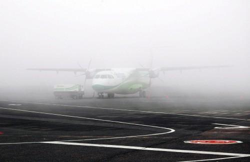 Niebla en Los Rodeos Tenerife Norte MPP