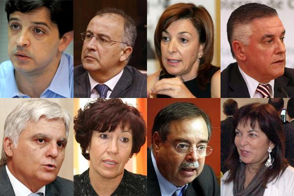 Nuevo Gobierno caras