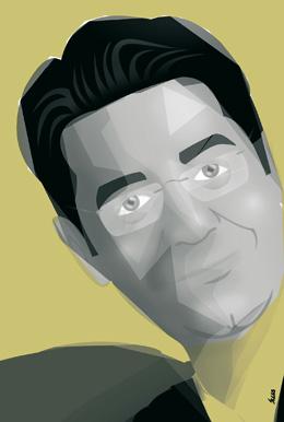 Pedro Martin caricatura Suja