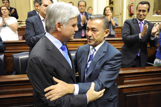 Pérez y Rivero debate investidura