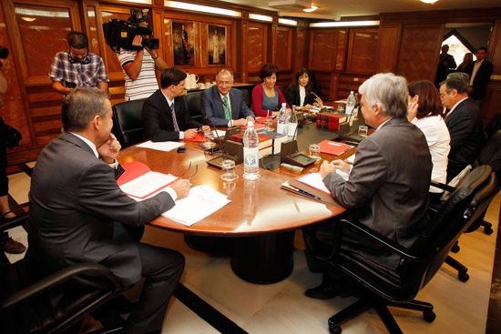 Primer Consejo Gobierno VIII legislatura