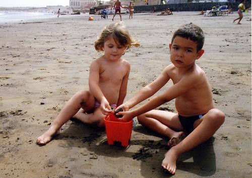 Proteccion solar niños verano