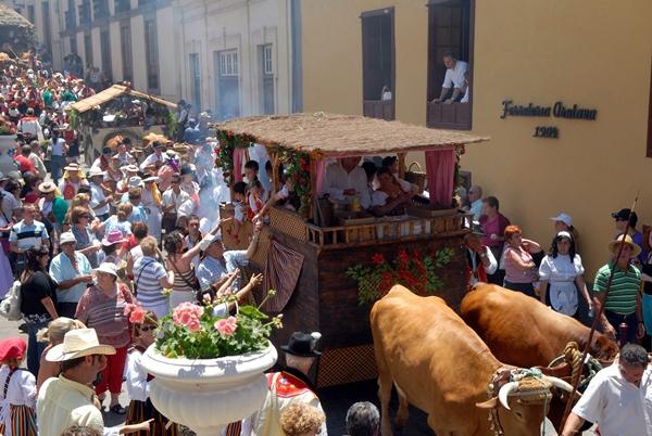 Resultado de imagen de Fiestas Patronales de La Orotava