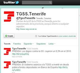Seguridad Social Twitter