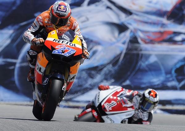Stoner - Lorenzo GP EEUU 2011