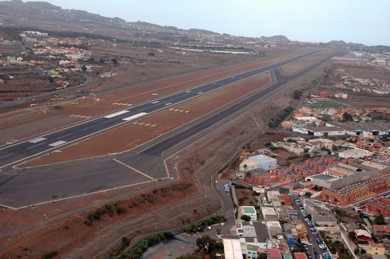 Vista aerea Los Rodeos