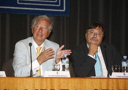 Juan Padrón Morales y Ramón Hernández
