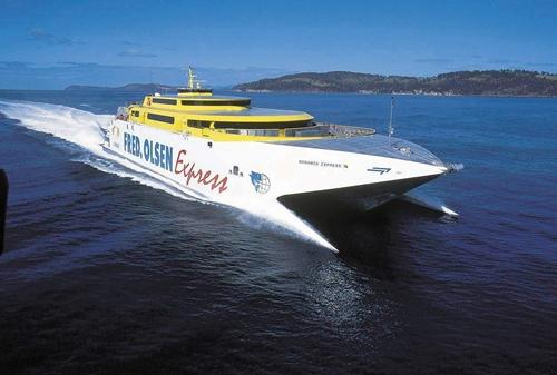 Fred olsen abre una nueva l nea de transporte mar timo - Transporte entre islas canarias ...