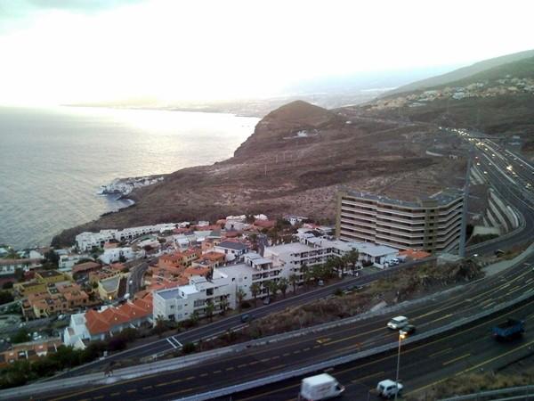 Vista de la zona de El Varadero desde Tabaiba, donde se querían construir 1.000 viviendas. / DA
