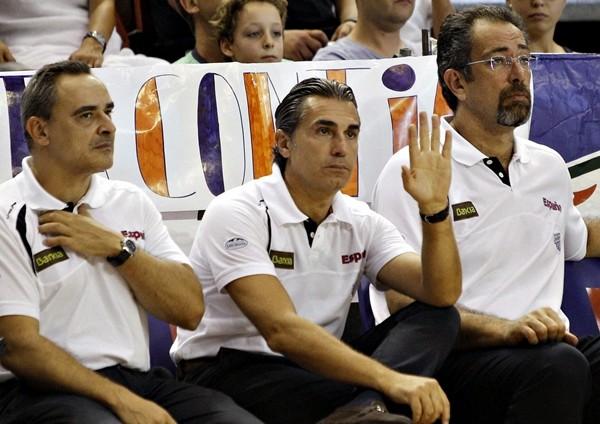 El entrenador de la selección española, el italiano Sergio Scariolo.   EFE