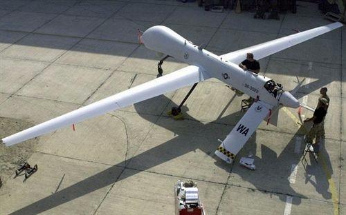Imagen de un modelo de 'Drone' avión no tripulado norteamericano. | DA