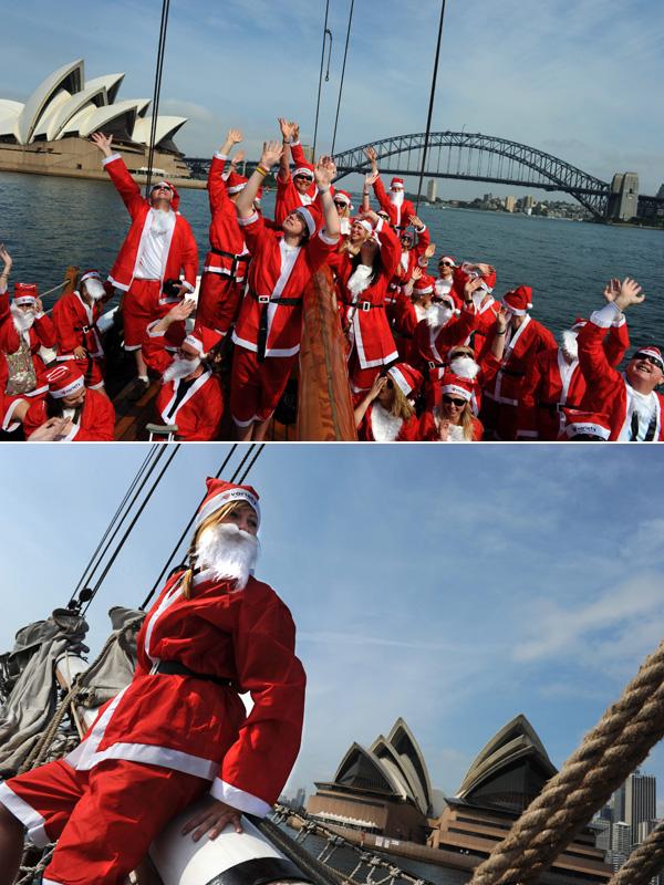 Santa Claus Sidney Australia