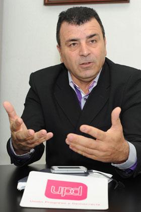 Antonio de la Guardia, en Santa Cruz. / SERGIO MÉNDEZ
