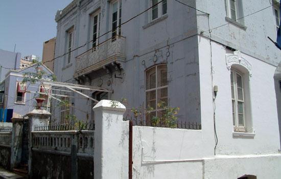 El inmueble, ubicado en El Toscal, también es conocido como la Casa Lázaro. / DA