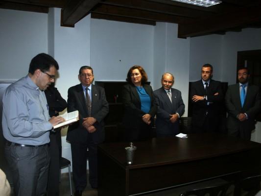 Inauguraci n del colegio de delineantes diario de avisos - Colegio delineantes barcelona ...