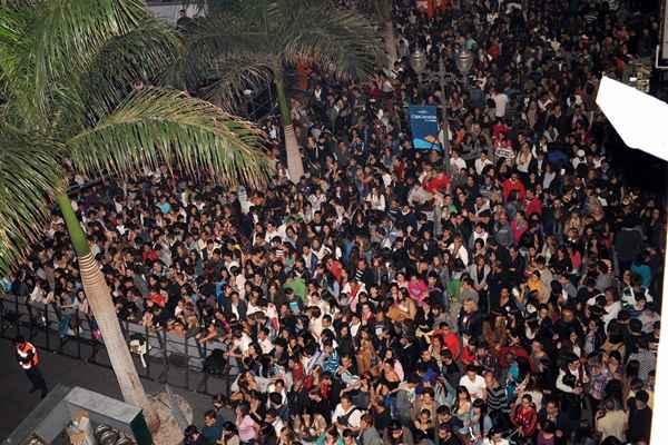 Foto de archivo del festival 40 pop de Cadena SER y los 40 Principales en Tenerife. | SERGIO MÉNDEZ