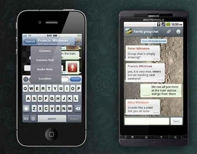 WhatsApp se está convirtiendo en el servicio de mensajería móvil instantáneo más demandado.   DA