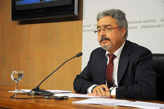 Imagen de archivo del portavoz gubernamental, Martín Marrero. / DA