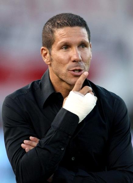 El entrenador argentino Diego Simeone. | EFE