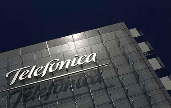 Imagen de archivo de la sede de Telefónica. | E.P.