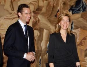 Iñaki Urdangarín y la Infanta Cristina durante un acto. | DA