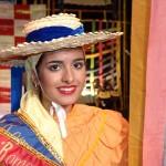 Pilar Figueroa Chinea, en representación de la Asociación de la Orden del Cachorro Canario, fue elegida Romera Mayor de las Fiestas de San Sebastián.   DA