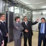 Alonso, junto al responsable de Maroc Telecom. | J.M.
