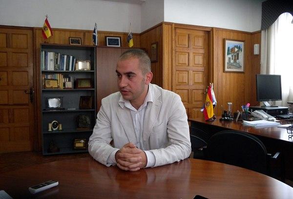 Román Martín alcalde de El Tanque MP
