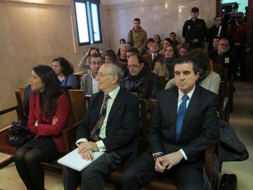 El expresidente del Gobierno balear Jaume Matas durante el juicio en 2012. | EP (Foto de archivo)