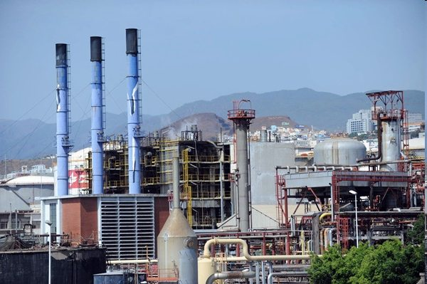 Refinería Cepsa Santa Cruz de Tenerife