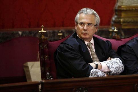 Imagen de archivo del juez Baltasar Garzón durante un juicio en el Tribunal Supremo. | DA