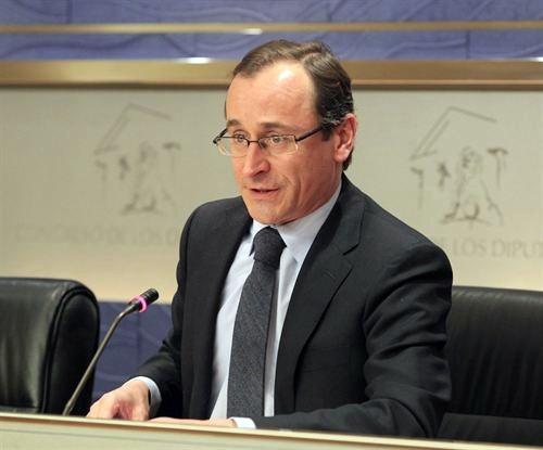 El portavoz del PP en el Congreso, Alfonso Alonso. | DA