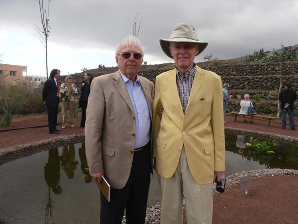 Wolfredo Wildpret y Fred Olsen,