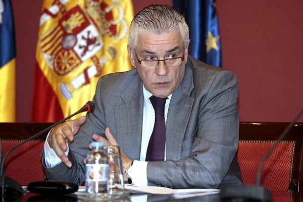 Juan Ramón Hernández, consejero de Agricultura. | EFE