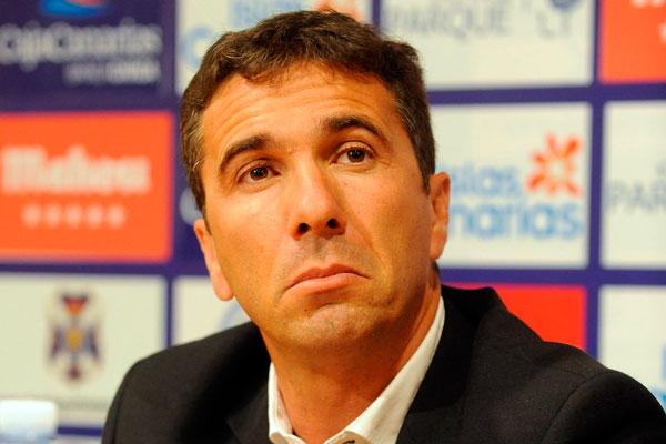 Pedro Cordero, director deportivo del CD Tenerife. / SERGIO MÉNDEZ