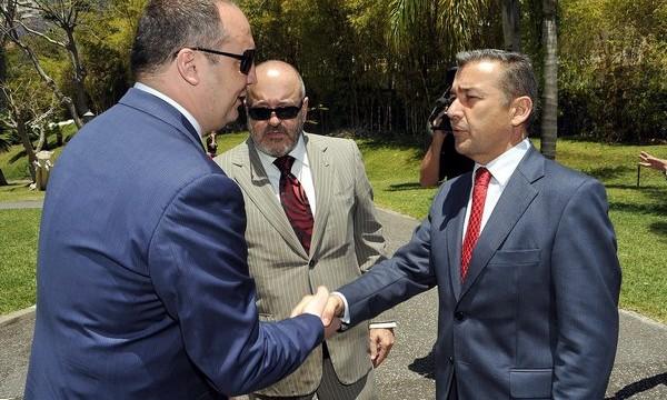 """Rivero elude hablar de presidir el CD Tenerife y dice que Miguel Concepción está haciendo un """"muy buen trabajo"""""""