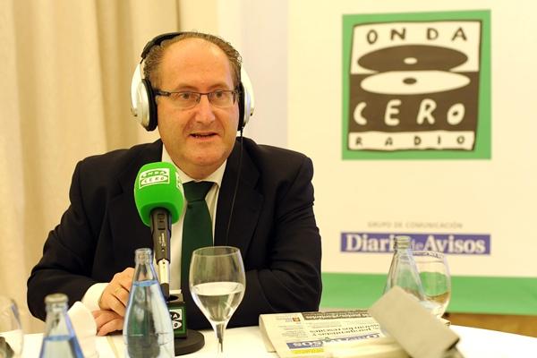 Salvador García, director de la Refinería Cepsa Tenerife. | SERGIO MÉNDEZ