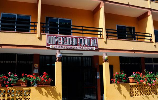 La sede del CEPA está ubicada en Universidad Popular Francisco Afonso, de Puerto de la Cruz. / MOISÉS PÉREZ
