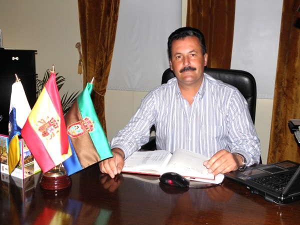 Vicente Rodríguez, comisionado insular de la Fecam en La Palma y alcalde de Puntagorda. / DA