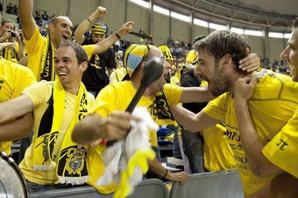El interior griego logró el ascenso a la Liga Endesa con el conjunto aurinegro| DA