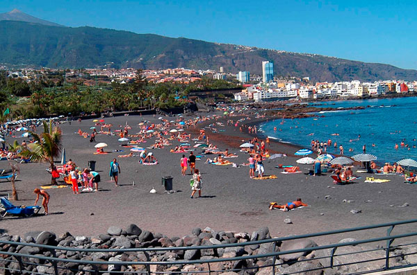 Playas la escapada perfecta diario de avisos - Playa puerto de la cruz tenerife ...