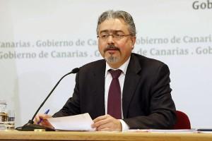 Imagen de archivo del portavoz del Ejecutivo, Martín Marrero. | DA