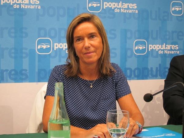 Imagen reciente de la ministra de Sanidad, Ana Mato, en el Congreso de los Diputados. | EUROPA PRESS